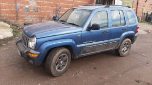2004 JEEP CHEROKEE EXTREME SPORT A BLUE ESTATE, SHOWING 139,091 MILES, AUTO 4 GEARS *NO VAT*