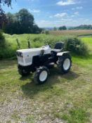 YANMAR YM169D COMPACT TRACTOR, RUNS AND DRIVES, 3 FORWARD GEARS AND REVERSE, PTO SPINS *NO VAT*