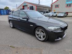 2013 BMW 530D M SPORT AUTO GREY 4 DOOR SALOON, 40,271 MILES, 3.0 DIESEL ENGINE *NO VAT*