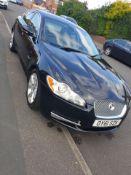 2011/61 JAGUAR XF LUXURY V6 AUTO PREMIUM LUXURY BLACK 4 DOOR SALOON, 3.0 DIESEL, 107K MILES *NO VAT*