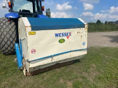 WESSEX FLAIL COLLECTOR FOR TRACTOR, SUITABLE FOR 3 POINT LINKAGE, IN WORKING ORDER *PLUS VAT*