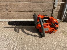 """HUSQVARNA T540XP TOP HANDLE CHAINSAW, RUNS AND WORKS, 14"""" BAR AND CHAIN *NO VAT*"""