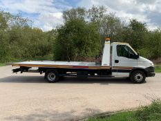 2014 IVECO DAILY 70C17 TILT & SLIDE RECOVERY, 3.0 DIESEL ENGINE, SHOWING 0 PREVIOUS KEEPERS
