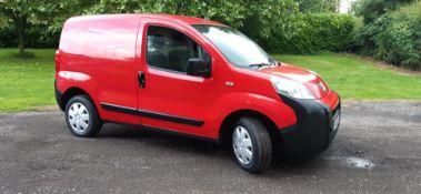 2010 PEUGEOT BIPPER S HDI RED PANEL VAN, 1.4 DIESEL ENGINE, 88K MILES *PLUS VAT*