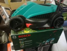 NEW BOSCH ROTAK 32 R CORDLESS LAWN MOWER, BOXED, TESTED WORKING *NO VAT*