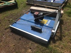 NEW AND UNUSED TOPPER SUITABLE FOR 3 POINT LINKAGE, PTO DRIVEN COMPLETE WITH SHAFT *PLUS VAT*