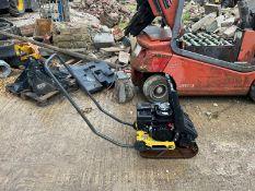 2015 BOMRAG BP10/35 PETROL WACKER PLATE, GOOD COMPRESSION, 65kg, HONDA GX120 ENGINE *NO VAT*