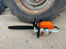 """2017 STIHL MS291 CHAINSAW, RUNS AND WORKS, 18"""" BAR AND CHAIN *NO VAT*"""