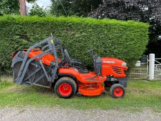 2013 KUBOTA G23-II RIDE ON HIGH TIP MOWER, RUNS AND DRIVES, SHOWING A LOW 771 HOURS *PLUS VAT*