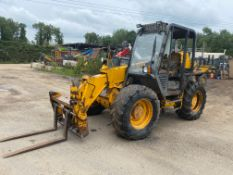 JCB 527-58 FARM SPECIAL, STARTS RUNS AND DRIVES, WORKING BRAKES AND HANDBRAKE *PLUS VAT*