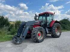 2002 McCORMICK MTX140 TRACTOR WITH QUICKE Q60 FRONT LOADER, RUNS DRIVES AND LIFTS *PLUS VAT*