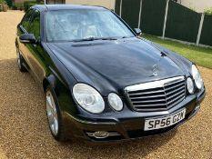 2006 MERCEDES E500 SPORT AUTO BLACK 4 DOOR SALOON, 5461cc GAS BI-FUEL, 188,042 MILES *NO VAT*