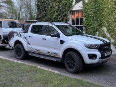 2020 FORD RANGER 2.0 WILDTRAK ECOBLUE 4X4 AUTO WHITE PICKUP, SHOWING 6700m WARRANTED *PLUS VAT*