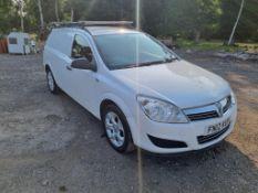 2012 VAUXHALL ASTRA CLUB ECOFLEX WHITE VAN, 112K MILES, 107 DIESEL ENGINE *NO VAT*
