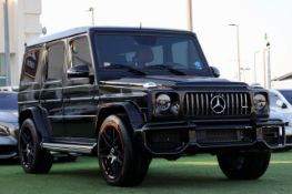2011 MERCEDES G WAGON G55 changed to a 2020 G63 look Full outside exterior complete package !!