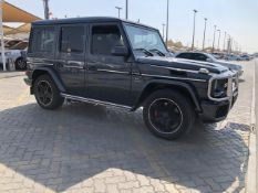 2014 Mercedes G63 65,000 km Service history Dark charcoal grey With 2 tone interior