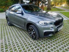 2017 BMW X6 XDRIVE 40D M SPORT AUTO GREY COUPE. 3.0 DIESEL ENGINE *NO VAT*