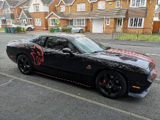 DODGE CHALLENGER SRT 8 6.4L 382 HEMI V8 ENGINE WITH IVA FROM VOSA, AUTO WITH PADDLE SHIFT *PLUS VAT*