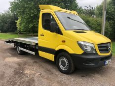 2014 MERCEDES-BENZ SPRINTER 313 CDI WITH BRAND NEW RECOVERY BODY, WIRELESS WINCH *PLUS VAT*