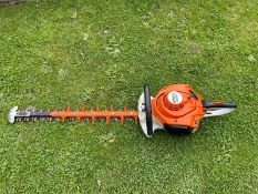 STIHL HS56C HEDGE TRIMMER, RUNS AND WORKS, SOLD NEW IN MID 2017 *NO VAT*