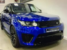 2016 RANGE ROVER SPORT SVR AUTOBIOGRAPHY DYNAMIC V8 SUPERCHARGED AUTOMATIC 5.0 550PS PETROL ENGINE