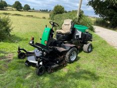 RANSOMES HR3806 RIDE ON MOWER, RUNS DRIVES AND CUTS, SHOWING 2917 HOURS, HYDROSTATIC *PLUS VAT*