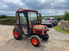 KUBOTA B2150 COMPACT TRACTOR, RUNS AND DRIVES, SHOWING 2361 HOURS, 23hp, ROAD KIT *PLUS VAT*
