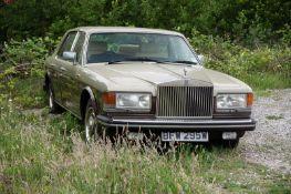 1981 ROLLS-ROYCE SILVER SPIRIT MULSANNE, 83,054 MILES, NON RUNNER *NO VAT*