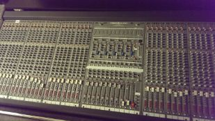 Crest/Peavey Audio Professional Studio Mixer with flight case and power unit.