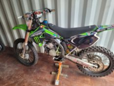 Yamaha 125 MOTORBIKE. In good condition with stand as in picture *NO VAT*