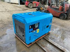 New And Unused Silent 9.5KvA Diesel Generator Tool Bag Is Included *no vat*