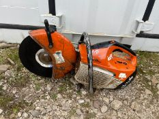 STIHL TS410 DISC CUTTER, COMPRESSION, DIRECT FROM PLANT HIRE COMPANY *NO VAT*