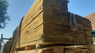 100 TREATED TIMBER BOARDS, 1600 x 100 x 22 mm, ALL NEW AND TREATED *NO VAT*