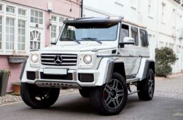 2016 MERCEDES-BENZ G500 4X4 SQUARED G WAGON SUV WITH LOW ORIGINAL MILES *PLUS VAT*