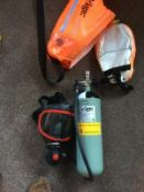 DRAGER SAVER PP15 EMERGENCY ESCAPE BREATHING APPARATUS *NO VAT*