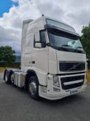 2013 VOLVO FH FH500 6X2T PA L2H3 WHITE TRUCK, 12777cc DIESEL ENGINE, SHOWING 943293.2km *PLUS VAT*