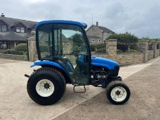 2003 NEW HOLLAND TC27D COMPACT TRACTOR, RUND AND DRIVES, LINKAGE ARMS AND PTO WORK *PLUS VAT*