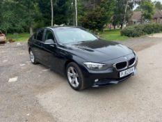 2012/62 BMW 318D SE BLACK SALOON, 109K MILES, 2.0 DIESLE ENGINE, 6 SPEED MANUAL *NO VAT*