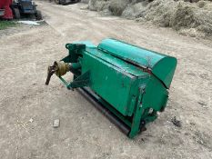 HOLLOW CORER GREEN AERATOR, SUITABLE FOR COMPACT TRACTOR, 3 POINT LINKAGE, PTO DRIVEN *PLUS VAT*