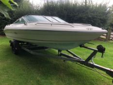 SEA RAY 170 BOAT WITH TRAILER, LICENSED FOR 6 PEOPLE, BRAND NEW TYRES *NO VAT*