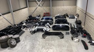 JOB LOT OF LATE MODEL LAND ROVER RANGE ROVER PARTS, SECONDHAND RRP OVER £44000 *PLUS VAT*