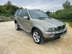 2005 BMW X5 SPORT D AUTOMATIC GREEN ESTATE, 3.0 DIESEL, APPROX 155K MILES *NO VAT*