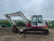 2015 TAKEUCHI TB1140 SERIES 2 15 TON DIGGER / EXCAVATOR, RUNS DRIVES AND DIGS, A LOW 6295 HOURS!!