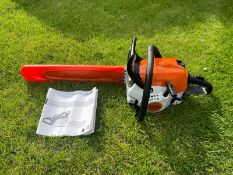 """2020 STIHL MS181C CHAINSAW, RUNS AND WORKS, ONLY BEEN USED ONCE, 16"""" BAR AND CHAIN *NO VAT*"""