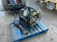 2018 JCB BEAVER PACK WITH JCB HM25LV GUN, RUNS AND WORKS, HOSES AND GUN INCLUDED *NO VAT*