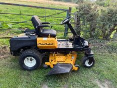 CUB CADET ZERO TURN Z FORCE S 48 RIDE ON MOWER, RUNS DRIVES AND CUTS WELL, 237 HOURS *PLUS VAT*