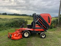 KUBOTA F3060 RIDE ON HIGH TIP MOWER, RUNS DRIVES AND CUTS, SHOWING 2715 HOURS *PLUS VAT*