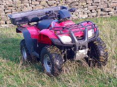2009 HONDA FOURTRAX TRX 250 FARM QUAD BIKE, 1389 HOURS, MANUAL GEAR SHIFT WITH REVERSE *NO VAT*