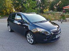 2014 VAUXHALL ZAFIRA TOURER SRI CDTI BLACK 7 SEATS MPV, 2.0 DIESEL ENGINE, MANUAL *NO VAT*