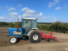 FORD 2120 TRACTOR WITH CULTIVATOR, 4 WHEEL DRIVE, STILL IN USE, RUNS AND WORKS *NO VAT*